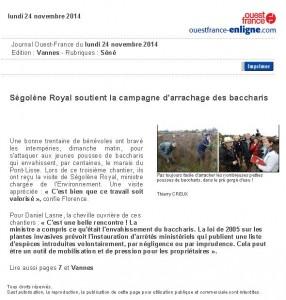 Ségolène Royal soutien la campagne d'arrachage des bacchararis-1 (3)